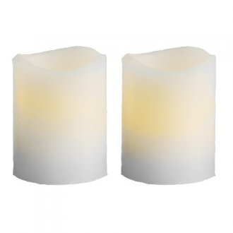 LED Blockljus wave 2-pack