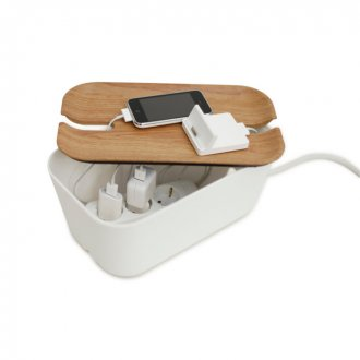 Cable organiser medium vit/natur