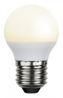 E27 klotlampa LED 2W