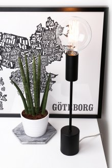 Bright bordlampa