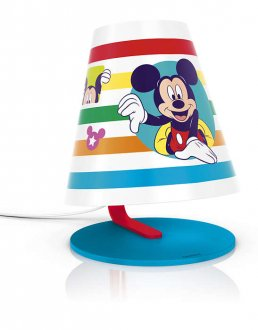 Mickey Mouse bordlampa LED