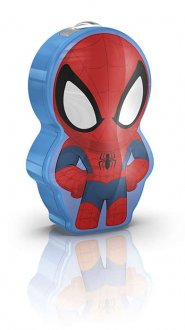 Spider-Man ficklampa LED