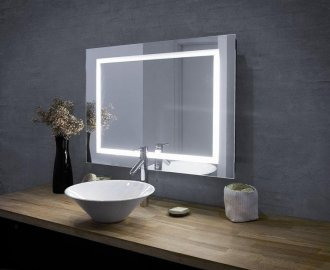 Amazoncom oval bathroom mirror