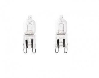G9 Halogenlampa 2-pack 42W