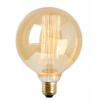 E27 125mm Globlampa Edison gold