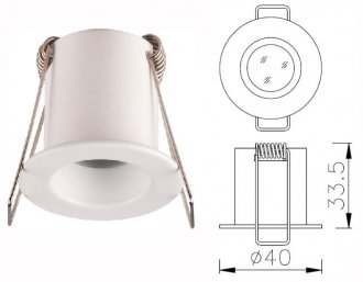 P-117 Mini-downlight LED