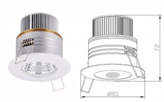 P-113 Downlight LED