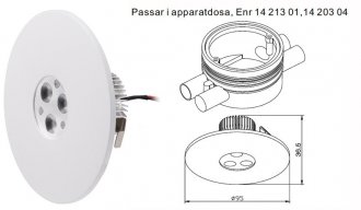 P-116 Downlight LED