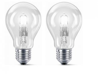 E27 2-pack Halogen normal 42W