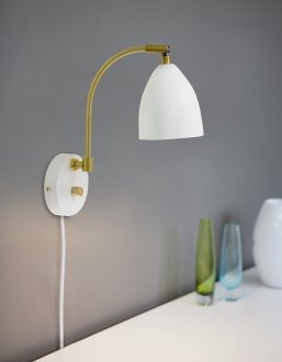 Deluxe LED vägglampa