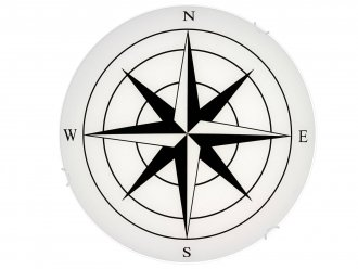 Compass takplafond LED