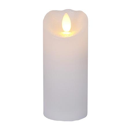 LED Blockljus glow 12,5cm (Vit)