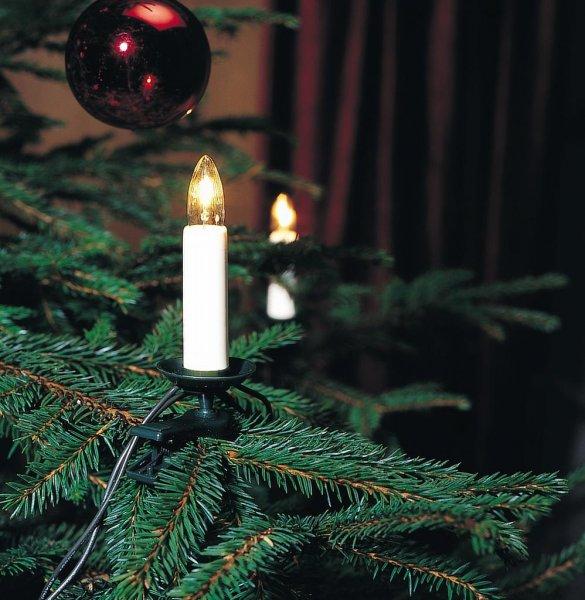 Julgransbelysning 16st 230V (Vit)