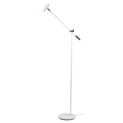 Cato LED golvlampa m. dimmer (Vit)
