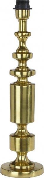 Art Deco lampfot (Mässing/guld)