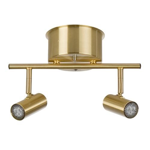 Cato LED 2-spot mässing (Mässing/guld)