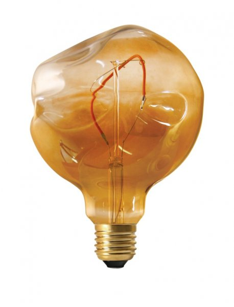 Shaped LED Filament Globe 125mm 2,5Wgold