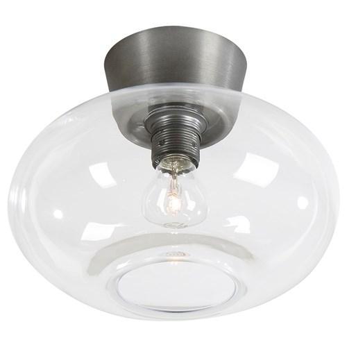 Bullo plafond oxidgrå/klar (Grå)