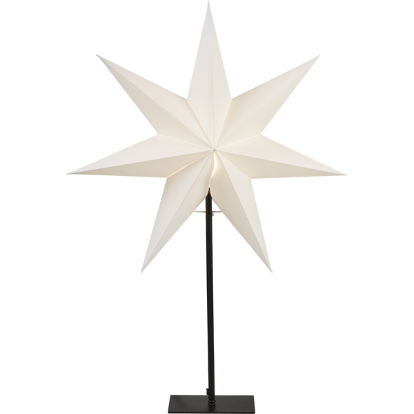 Frozen stjärna på fot (Svart)