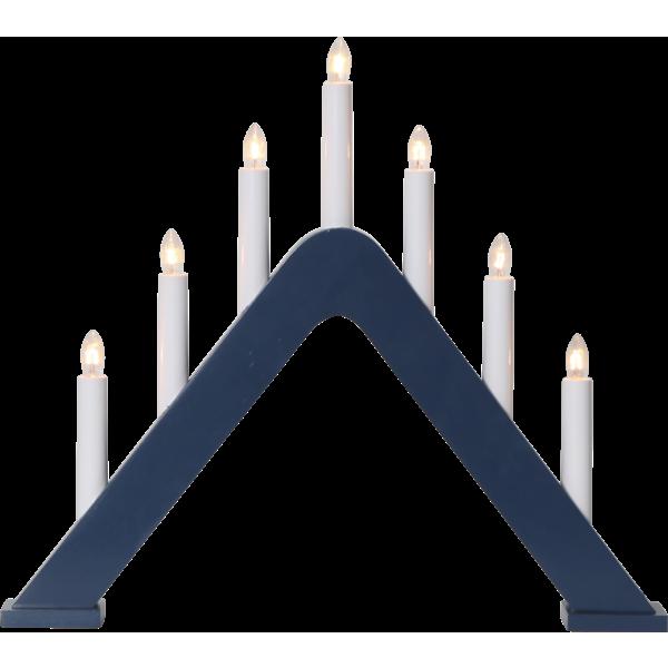 Jarve ljusstake 7L (Blå)