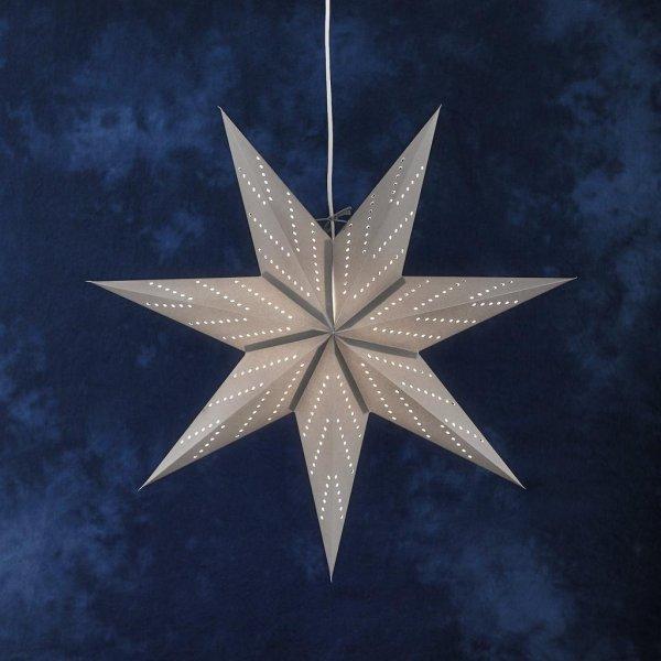 Pappersstjärna silver (Silver)