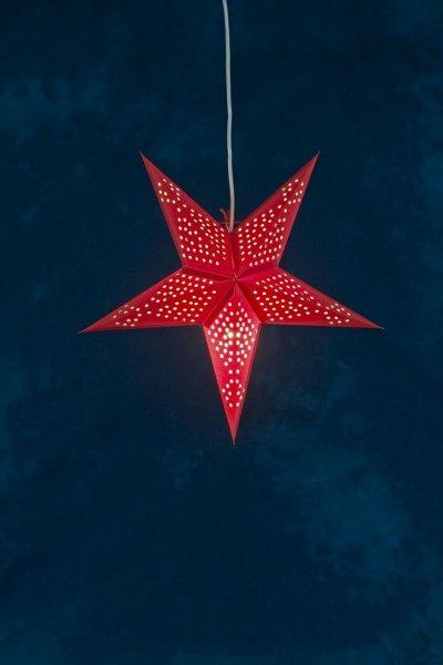 Pappersstjärna röd 52 cm (Röd)