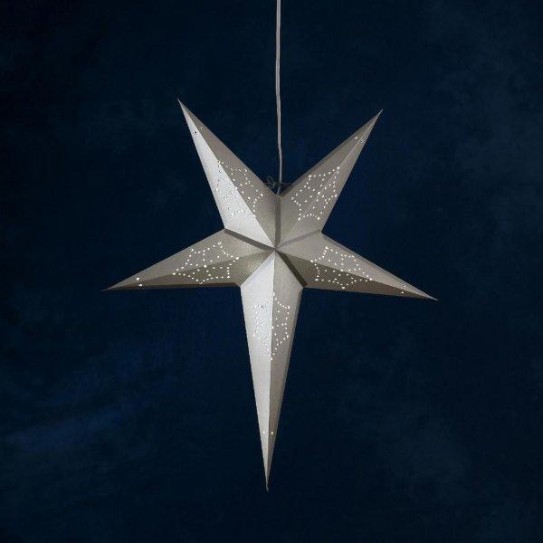 Julstjärna grå (Grå)