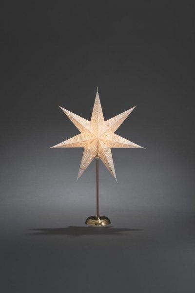 Pappersstjärna metallfot