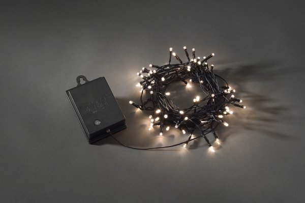 batteridriven ljusslinga utomhus