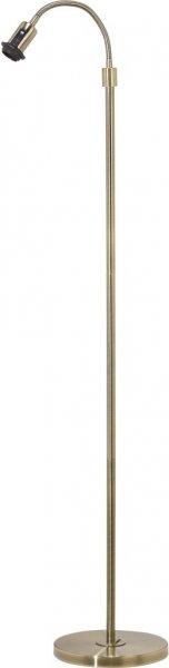 Cia antik 1-arm golvfot (Antikmässing)