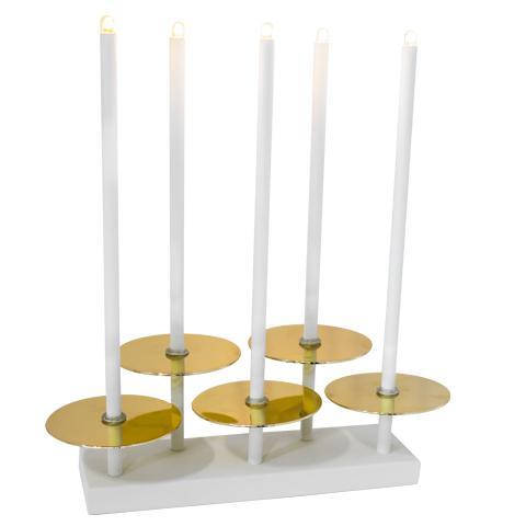 Nivå bordlampa Mässing (Mässing/guld)
