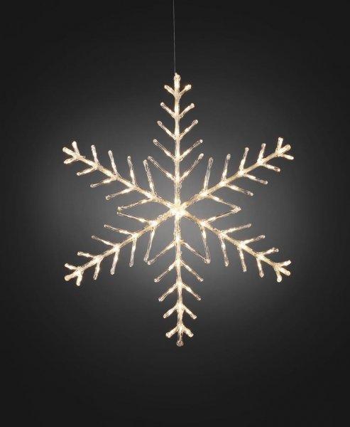 Snöflinga 100cm (Klar/transparent)
