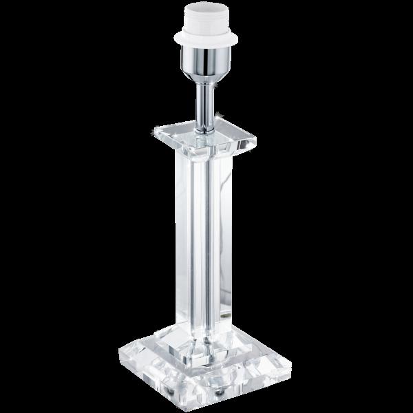 Glasbury lampfot 3 (Förkromad/blank)