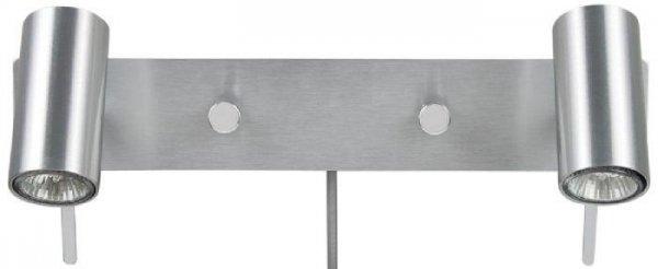 Cato dubbel läslampa (Aluminium)