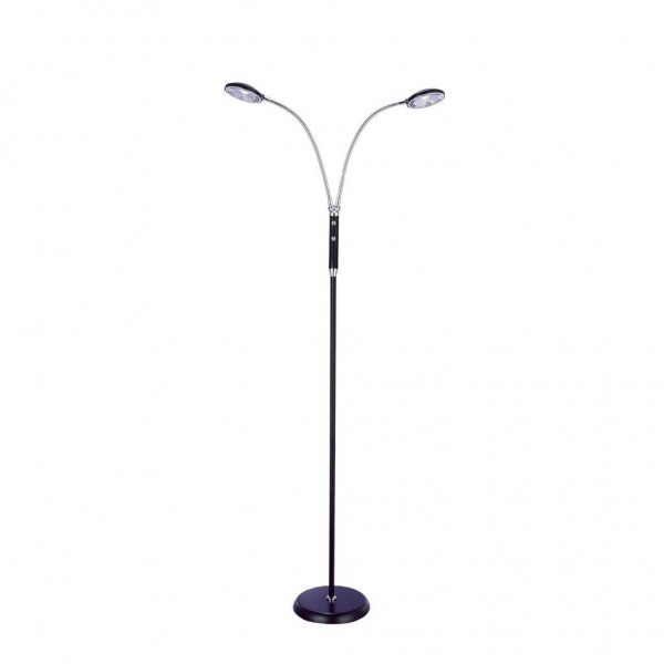 Chicago golvlampa 2arm LED