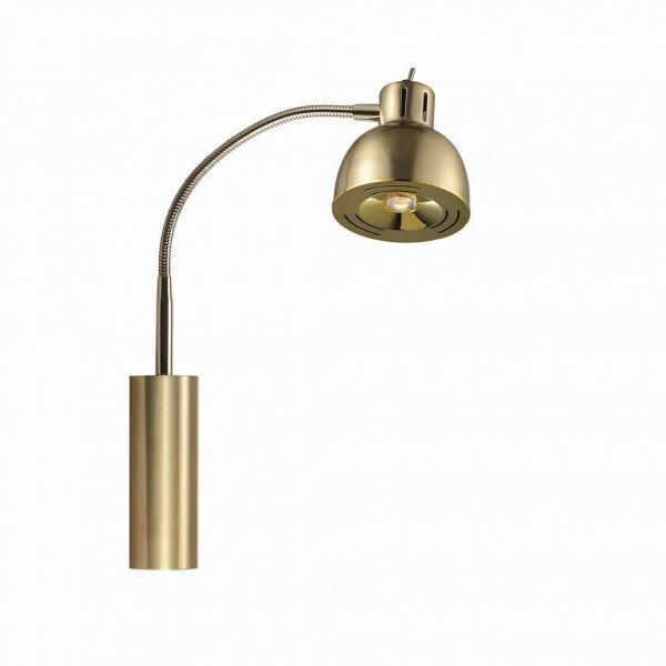 Duett läslampa (Mässing/guld)
