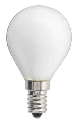 e14 led filament klot opal 1w led lampor. Black Bedroom Furniture Sets. Home Design Ideas