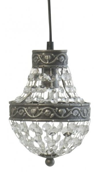 Edward fönsterlampa korg (Silver)