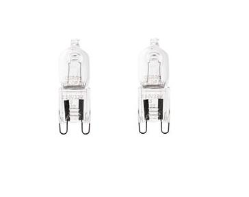 G9 Halogenlampa 2-pack 28W