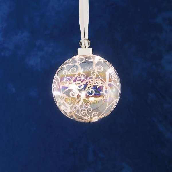 Glasboll 12cm (Klar/transparent)