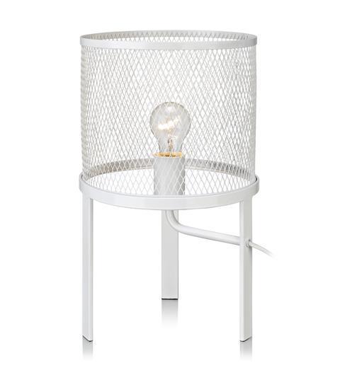 Grid bordlampa (Vit)