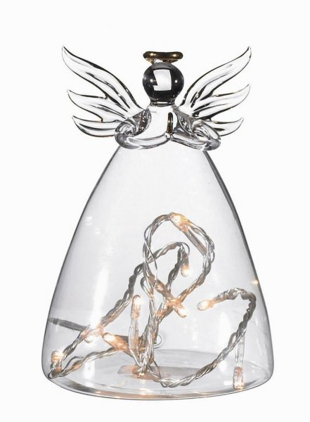 ALMA glasängel (Klar/transparent)