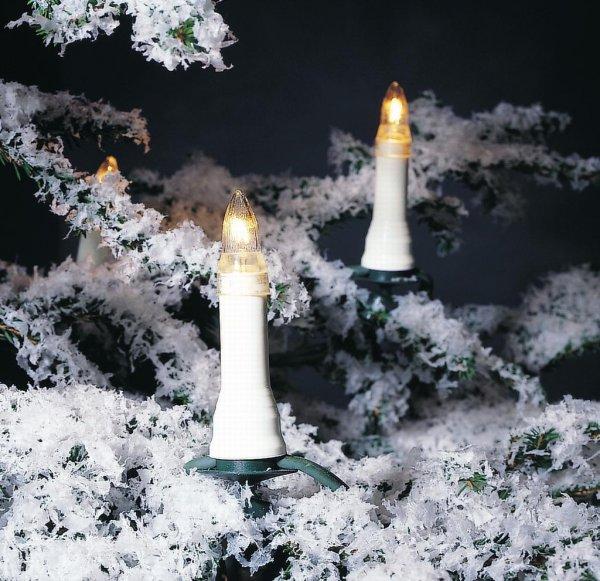 Julgransbelysning 16 ute 230V (Vit)