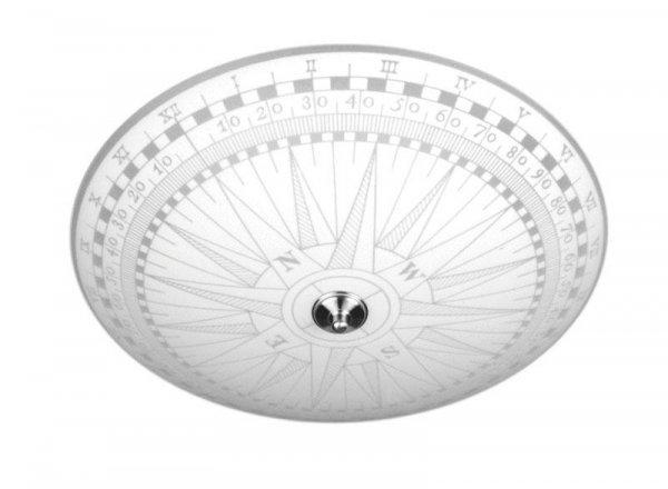 Kompass plafond 50cm (Vit)