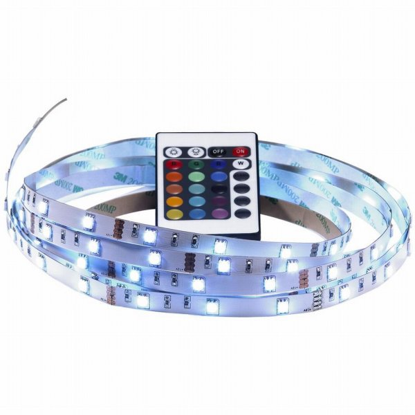 LED-list 4m RGB - komplett