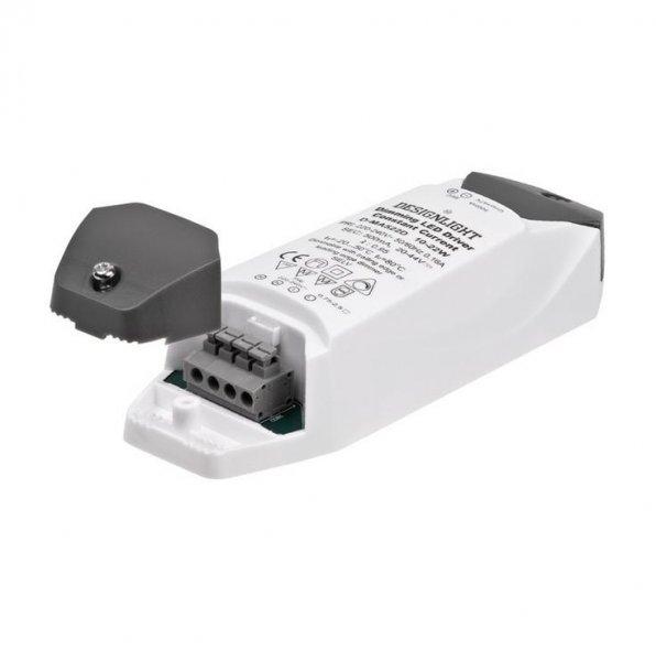 500mA Dimbar LED trafo snabbkoppling (Vit)