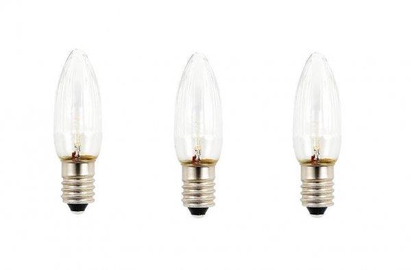 E10 LED 3-pack 0,3W