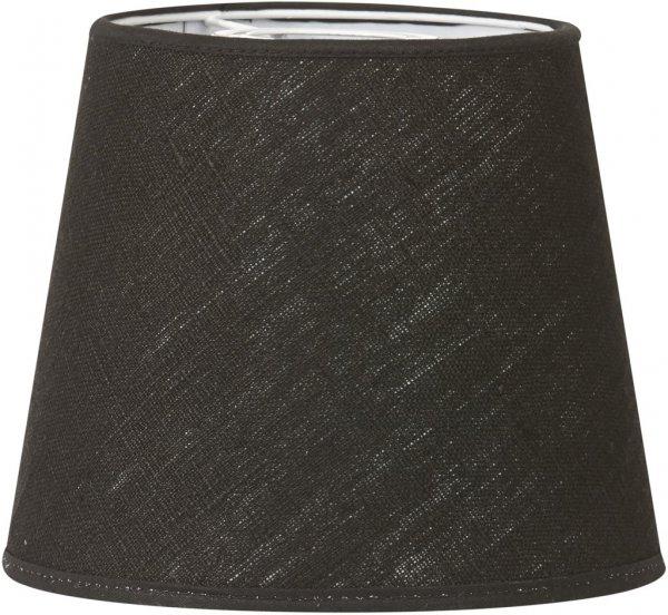 Mia L skärm svart lin 24cm (Svart)