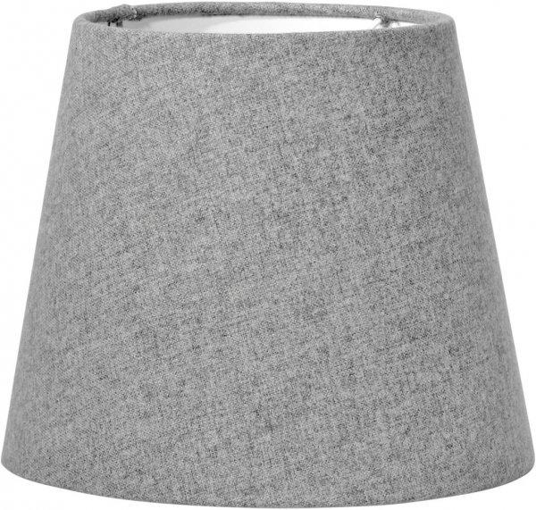 Mia L skärm grå filto 24cm (Grå)