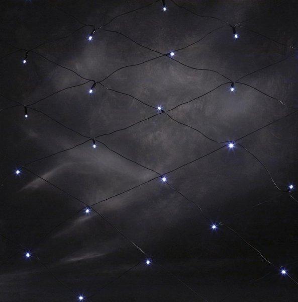 LED nät 2x2m (Svart)